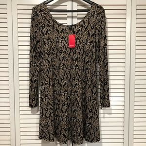 NWT Forever 21 Floral Tunic Dress